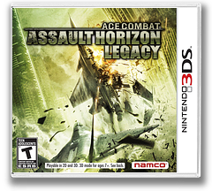 Ace Combat - Assault Horizon Legacy 3DS cover (AC3E)