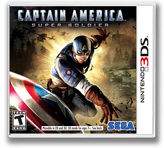Captain America - Super Soldier 3DS cover (ACAE)