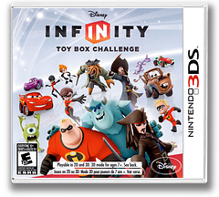 Disney Infinity - Toy Box Challenge 3DS cover (ADYE)