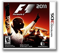 F1 2011 3DS cover (AF4E)