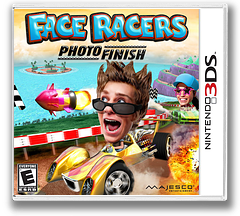 Face Racers - Photo Finish 3DS cover (AFCE)
