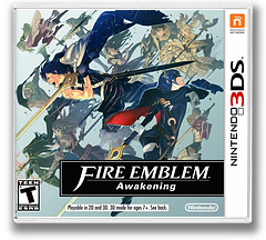 Fire Emblem - Awakening 3DS cover (AFEE)