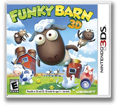 Funky Barn 3D 3DS cover (AFME)