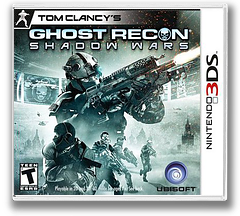 Tom Clancy's Ghost Recon - Shadow Wars 3DS cover (AGRE)