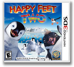 Happy Feet Two 3DS cover (AHFE)