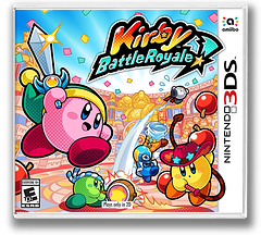 Kirby Battle Royale 3DS cover (AJ8E)