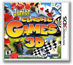 Junior Classic Games 3D 3DS cover (AJCE)