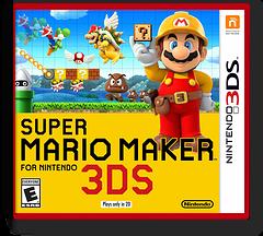 Super Mario Maker for Nintendo 3DS 3DS cover (AJHE)