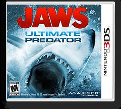 Jaws - Ultimate Predator 3DS cover (AJWE)