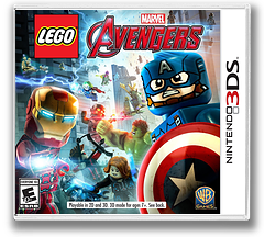 LEGO Marvel's Avengers 3DS cover (ALEE)