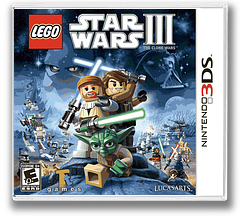 LEGO Star Wars III - The Clone Wars 3DS cover (ALGE)