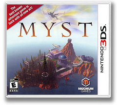 Myst 3DS cover (AM7E)
