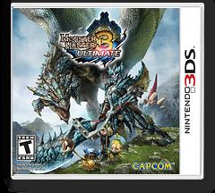 Monster Hunter 3 Ultimate 3DS cover (AMHE)