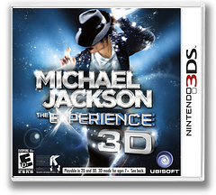 Michael Jackson - The Experience 3D 3DS cover (AMJE)