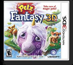 Petz Fantasy 3D 3DS cover (APFE)