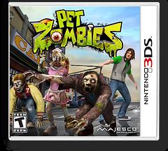 Pet Zombies 3DS cover (APZE)