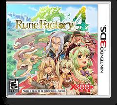 Rune Factory 4 3DS cover (AR4E)