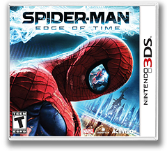 Spider-Man - Edge of Time 3DS cover (AS7E)