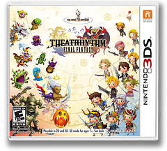 Theatrhythm Final Fantasy 3DS cover (ATHE)