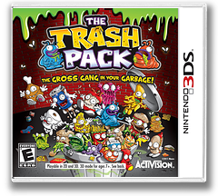 The Trash Pack 3DS cover (ATZE)