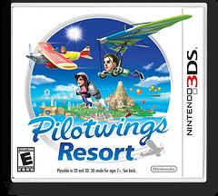 Pilotwings Resort 3DS cover (AWAE)
