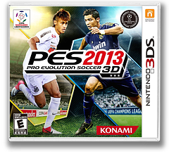 Pro Evolution Soccer 2013 3D 3DS cover (AWTE)