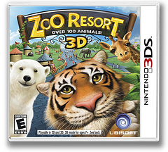 Zoo Resort 3D 3DS cover (AZOE)