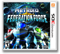 Metroid Prime: Federation Force 3DS cover (BCAE)