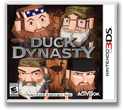 Duck Dynasty 3DS cover (BDKE)
