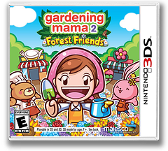 Gardening Mama 2 - Forest Friends 3DS cover (BGME)