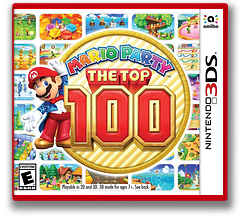 Mario Party: The Top 100 3DS cover (BHRE)