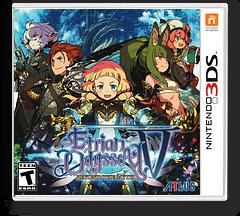 Etrian Odyssey V: Beyond the Myth 3DS cover (BMZE)