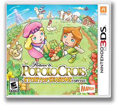 Return to PoPoLoCrois: A Story of Seasons Fairytale 3DS cover (BPPE)