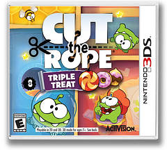 Cut the Rope - Triple Treat 3DS cover (BR3E)
