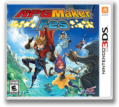 RPG Maker Fes 3DS cover (BRPE)