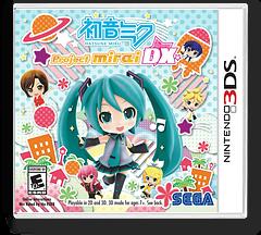 Hatsune Miku - Project Mirai DX 3DS cover (BRXE)