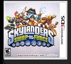 Skylanders Swap Force 3DS cover (BSFE)