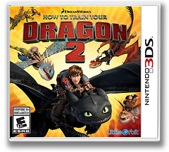 How to Train Your Dragon 2 3DS cover (BTDE)