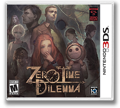Zero Escape: Zero Time Dilemma 3DS cover (BZEE)