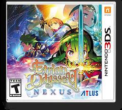 Etrian Odyssey Nexus 3DS cover (BZME)
