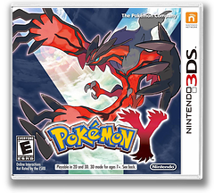 Pokémon Y 3DS cover (EK2E)