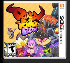 Demon King Box 3DSWare cover (KDKE)