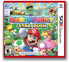 Mario Party: Star Rush 3DS cover (BAAE)