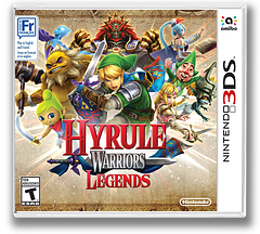 Hyrule Warriors Legends 3DS cover (BZHE)