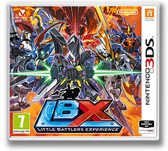 LBX - Little Battlers eXperience 3DS cover (ADNZ)