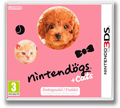 Nintendogs + Cats - Puddel & Nye venner 3DS cover (ADCP)