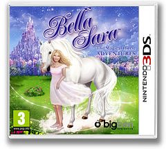 Bella Sara - The Magical Horse Adventures 3DS cover (AB2P)