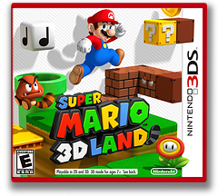 Super Mario 3D Land 3DS cover (AREE)
