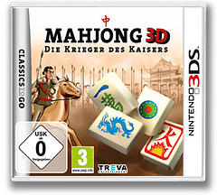 Mahjong 3D - Warriors of the Emperor 3DS cover (AMZP)