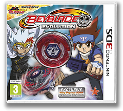 Beyblade - Evolution 3DS cover (ARXP)